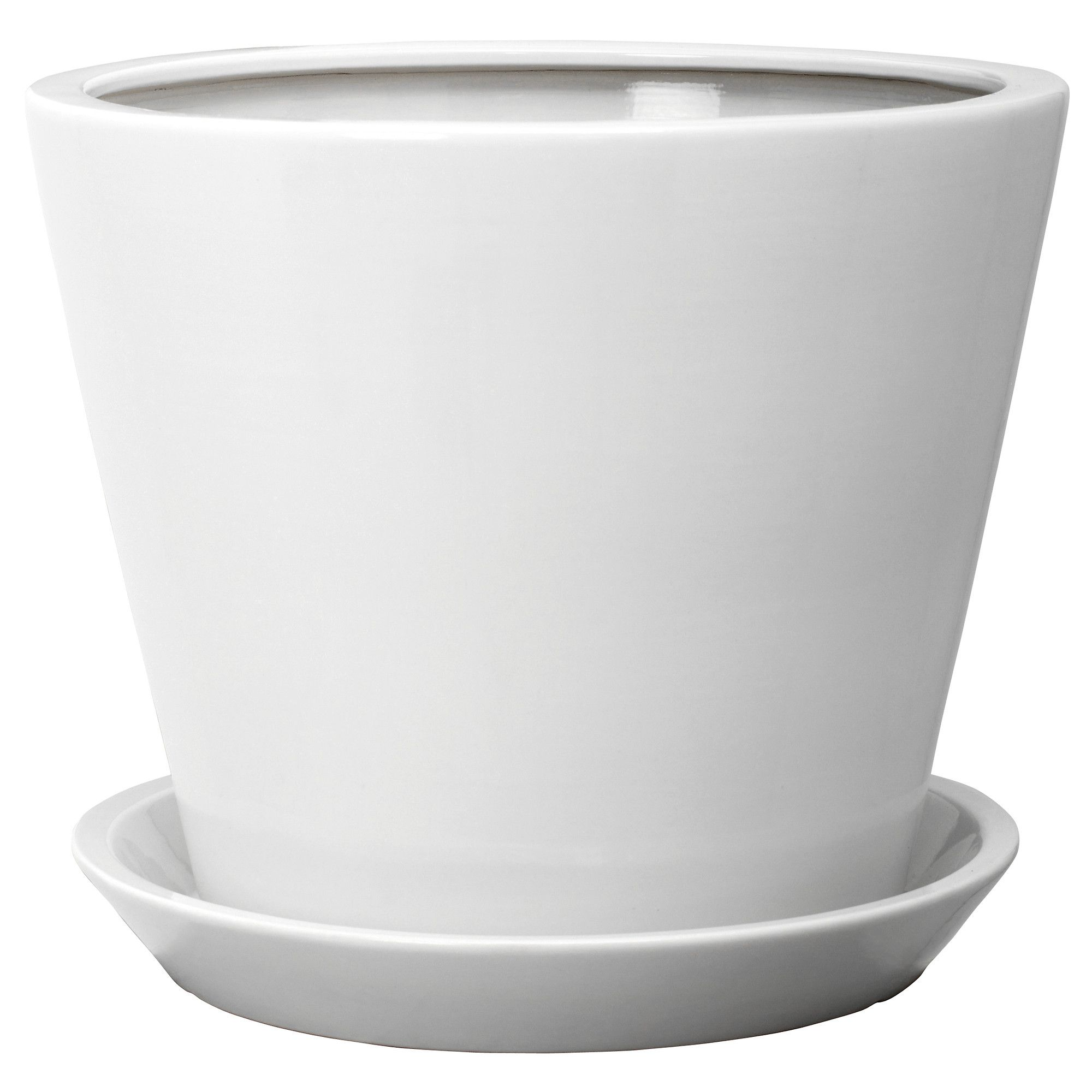 Ikea Planters Large TrossÖ Plant Pot With Saucer Ikea Depending On The