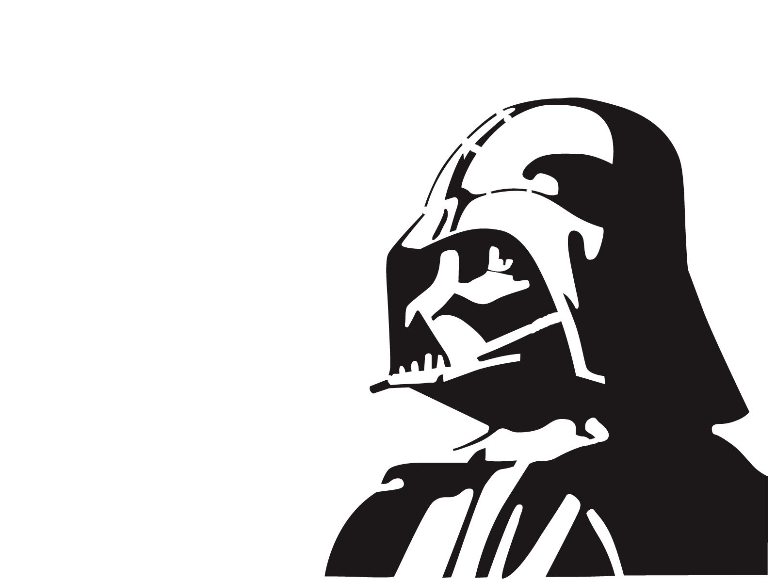 Plotterdatei Star Wars Darth Vader By Graffitiwatcher On Deviantart Silouettes