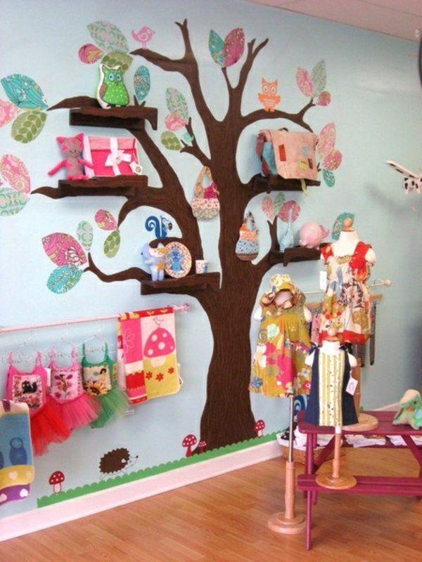 idee kinderzimmer gestaltung wandtattoo Kinderzimmer Pinterest - wandsticker babyzimmer nice ideas