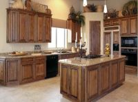 How To Stain Oak Kitchen Cabinets Plus Staining Cabinets ...