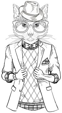 """A Cool Cat from """"Smooth Operator"""" 