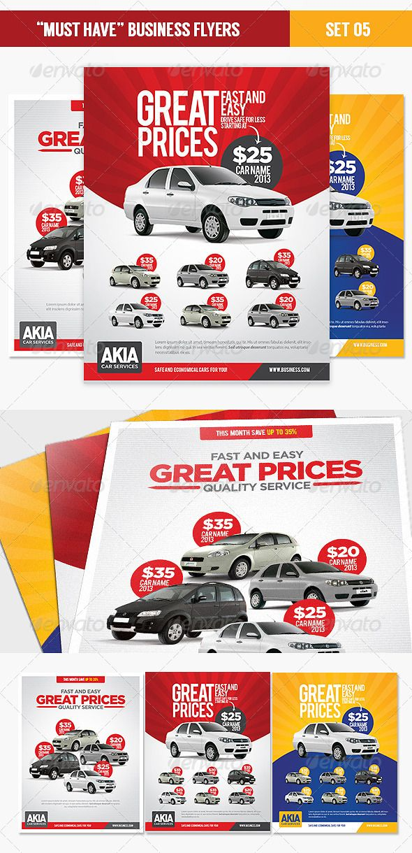 Rant A Car Business Flyer Corporate Flyer Pinterest Business - car for sale flyer template