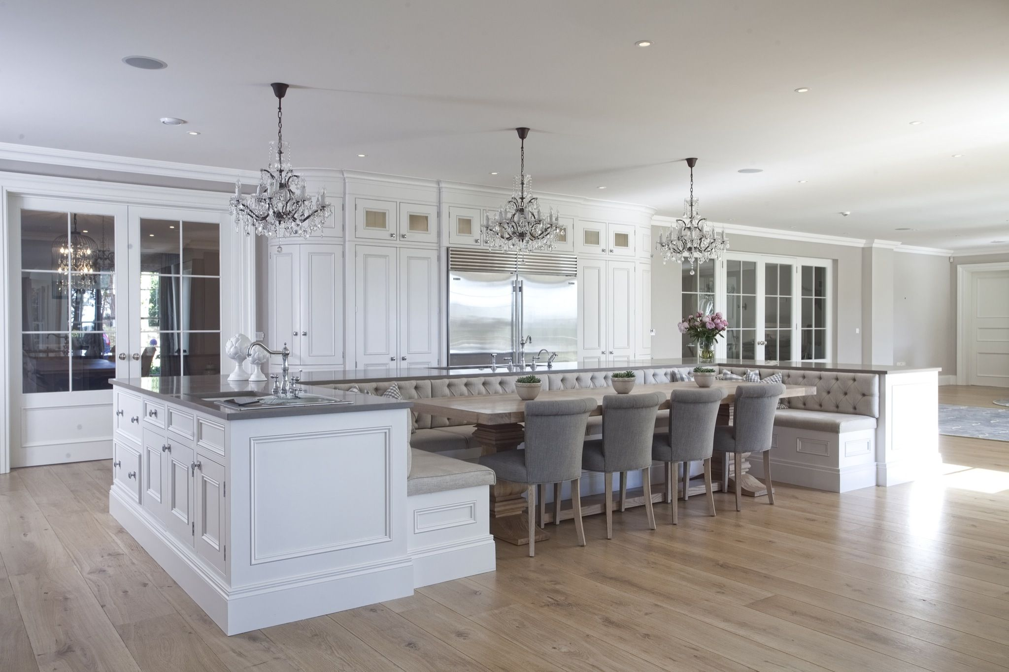 Custom Kitchen Islands With Seating 101 Custom Kitchen Designs With Islands - Page 7 Of 11