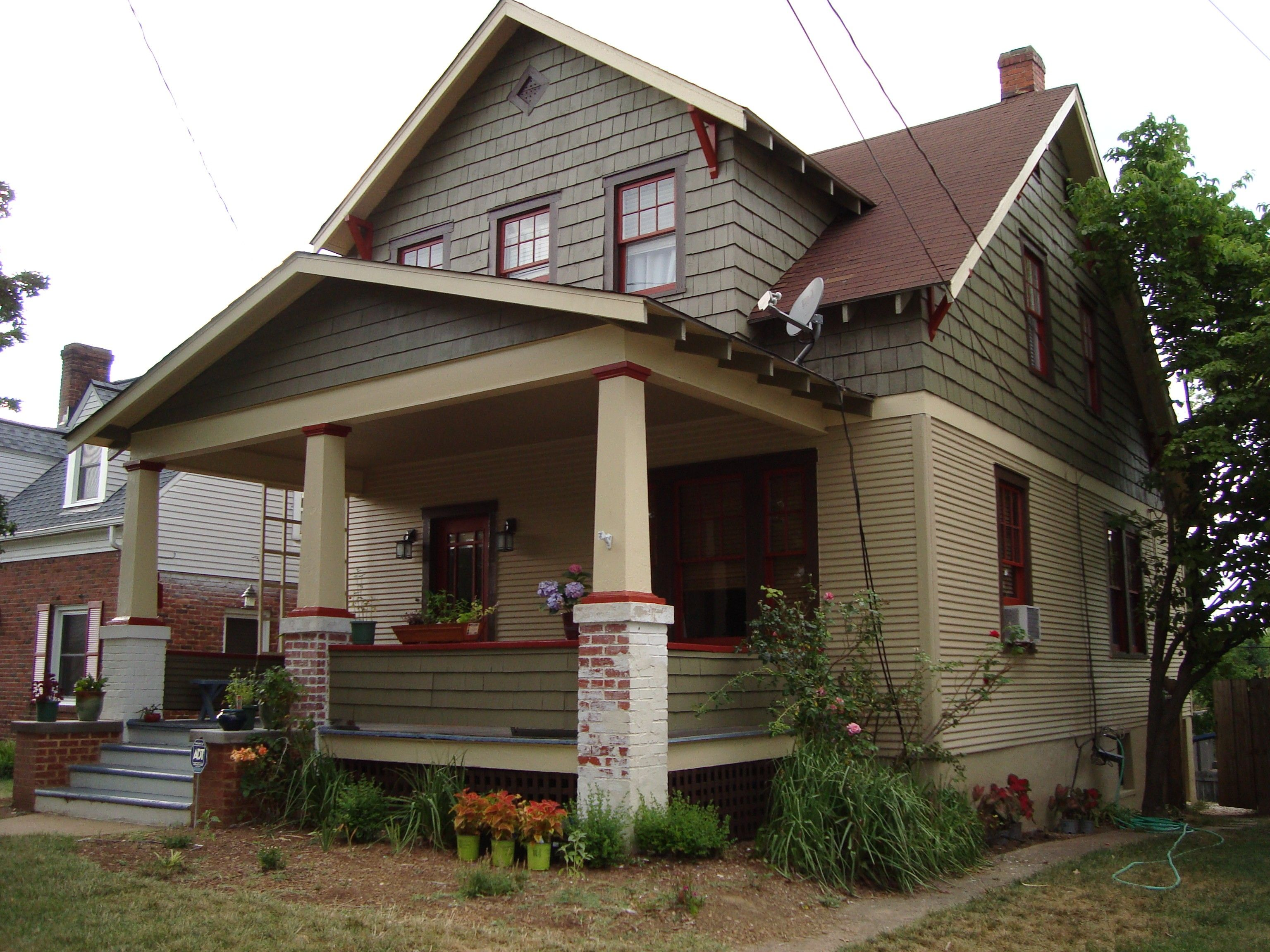 Exterior paint bungalow home color colors for an historic virginia bungalow submit an entry house