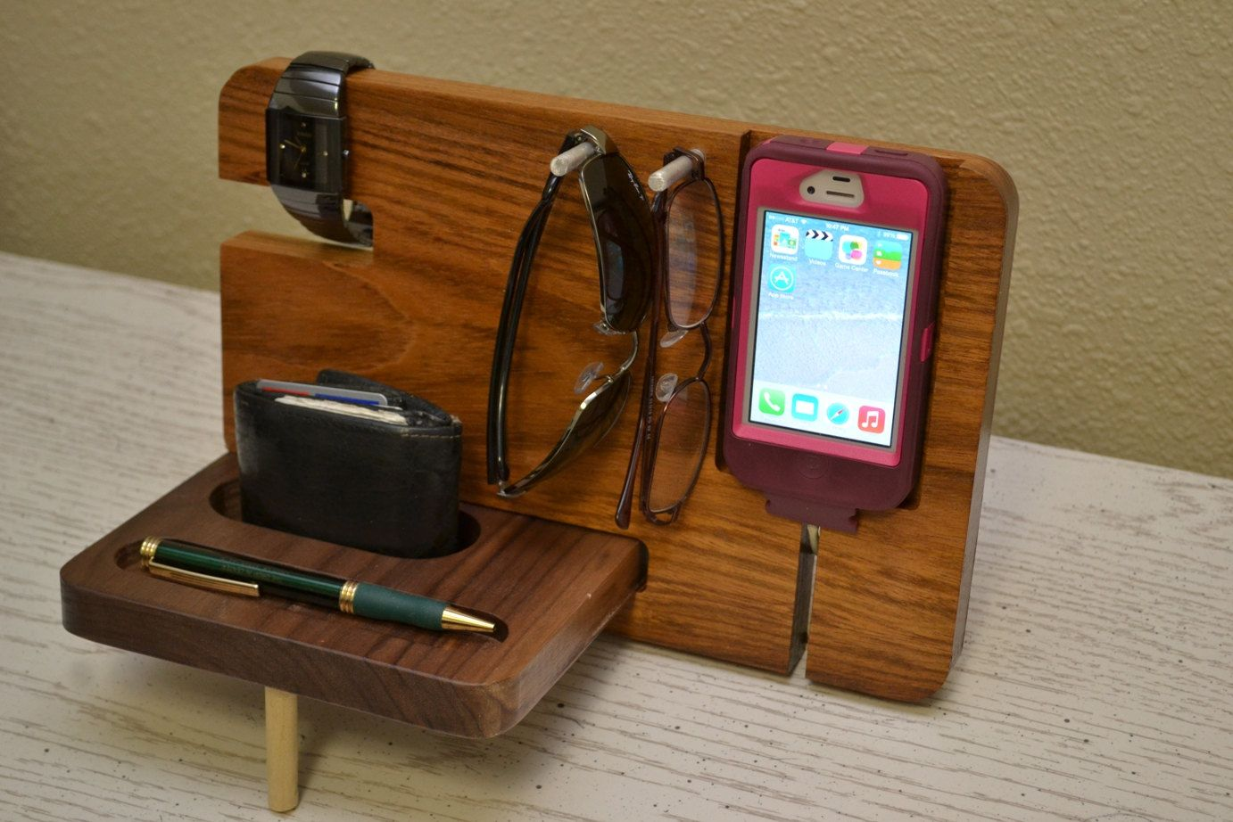 Dock Furniture Ideas Iphone Stand Iphone Dock Father 39s Day Gift Watch Holde