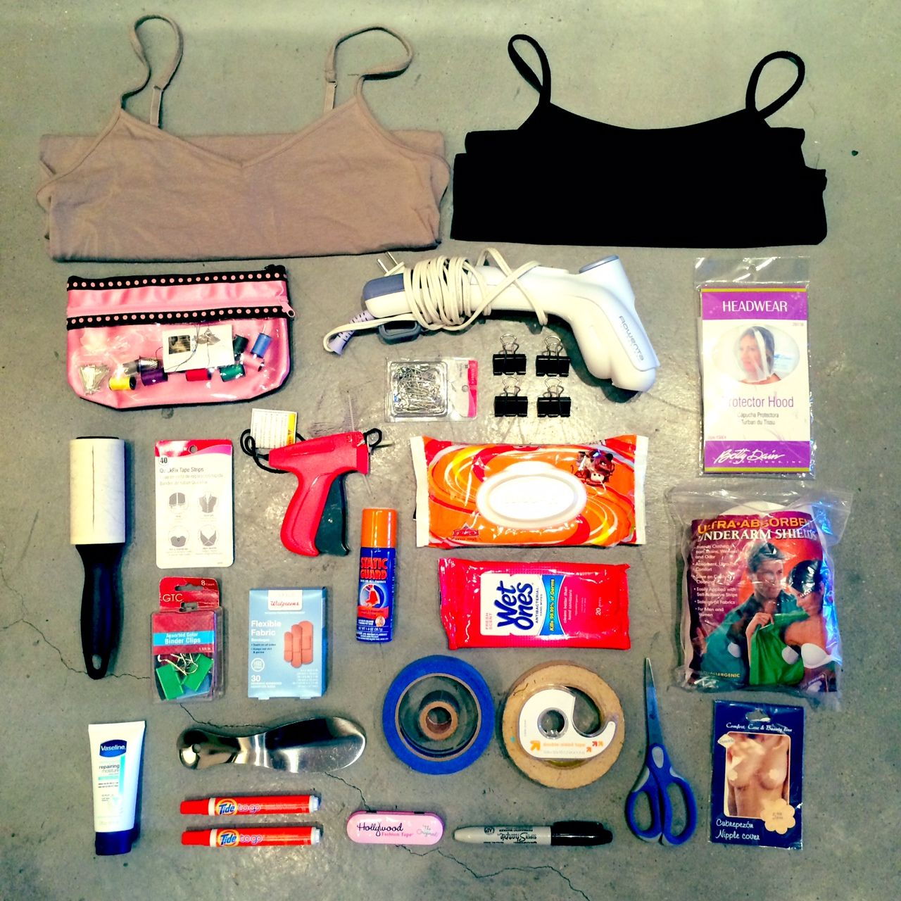 Wardrobe Kits Wardrobe Stylists Kit Stuff Pinterest Stylists