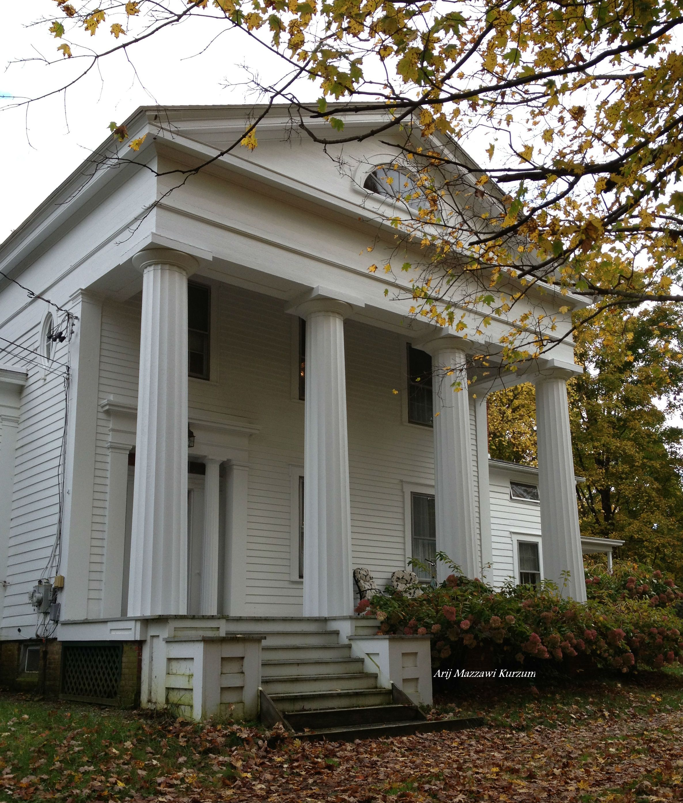 Greek Revival Farmhouse Architecture Greek Revival American Architecture Pinterest