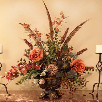 silk flower arrangements for home Designer Silk Floral - silk arrangements for home decor