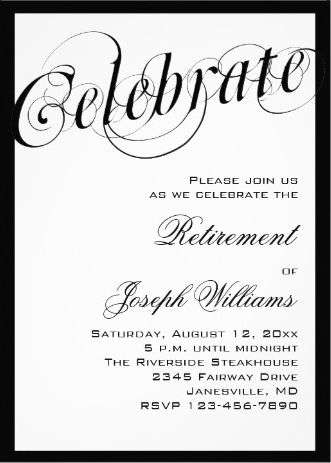 Rustic Surprise Retirement Party by PurpleFinchCreations on Etsy - retirement party flyer template