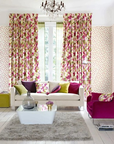 Matching Wallpaper And Curtains For Living Room - Homebase Wallpaper