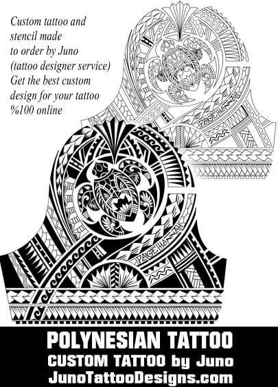 polynesian turtle tattoo, juno tattoo designs, custom tattoo, arm - tattoo template