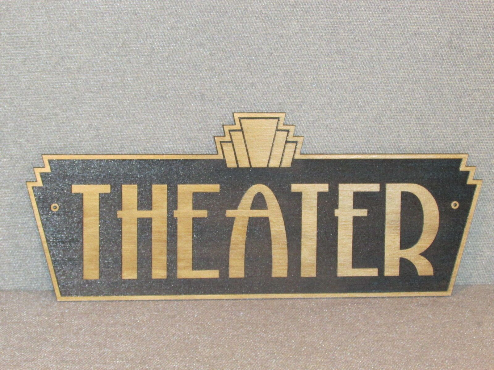 Style Vintage Deco Vintage Style Art Deco Theater Sign Movie Box Office Home