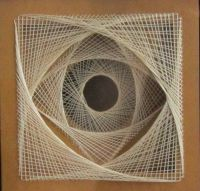 STRING ART GEOMETRIC Abstract Home Dcor Wall Art by ...