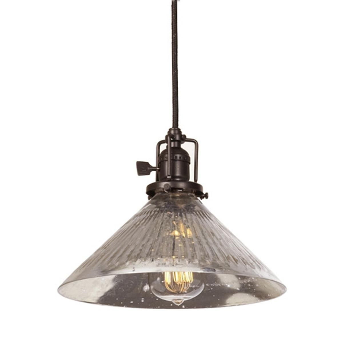 Kitchen Pendant Lighting Glass Shades Mercury Glass Cone Industrial Pendant Might Use Different