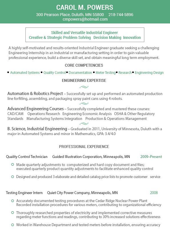 Project manager resume writing service