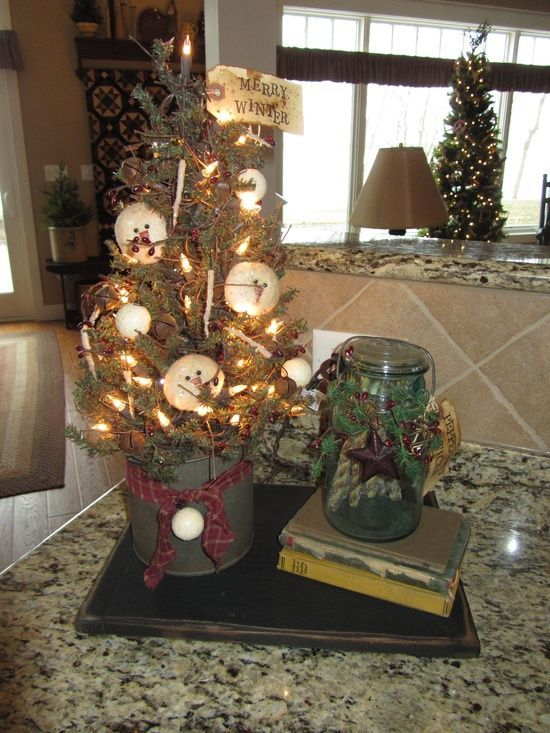 Primitive Decorating Ideas For Christmas Home Design Inspirations - primitive christmas decorations