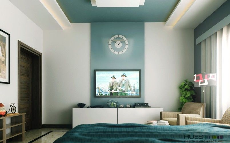wall mounted tv ideas in modern bedroom Chic Bedroom Ideas - tv in bedroom ideas
