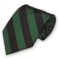 Hunter Green and Black Striped Tie | We're Getting Married ...