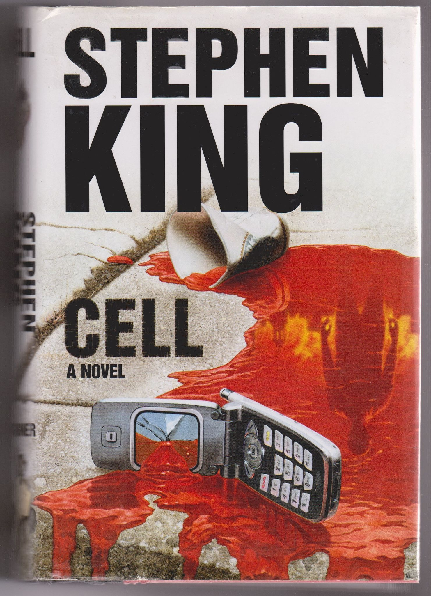 It Stephen King Libro Stephen King Cell Hardcover Used Books Covers Art