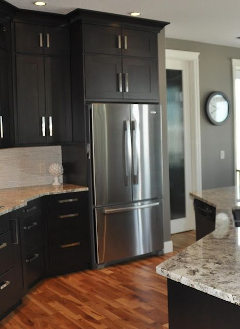 Dark Gray Kitchen Cabinets With Light Gray Walls Dark Cabinets With Gray Walls... This Is What I Think I