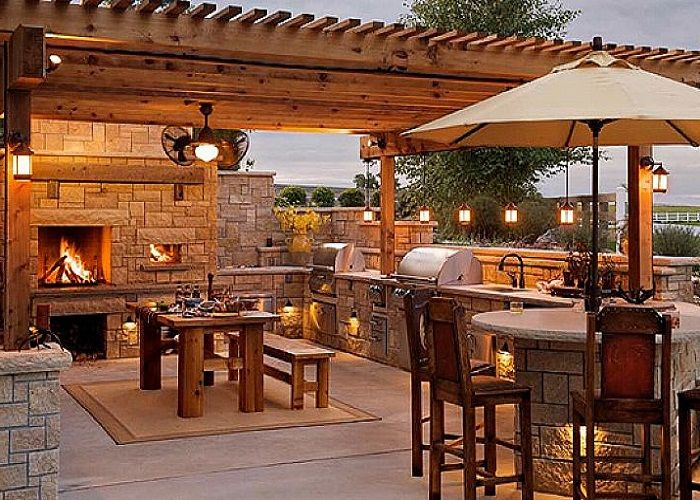 20 Amazing Outdoor Kitchen Ideas and Designs Outdoor living - outside kitchen designs