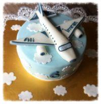 Flugzeug-Torte | Kochen/backen | Pinterest