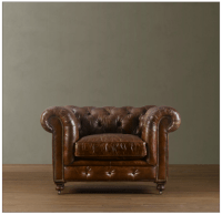 Gentlemans club chair Introducing Man Cave Monday: Leather ...