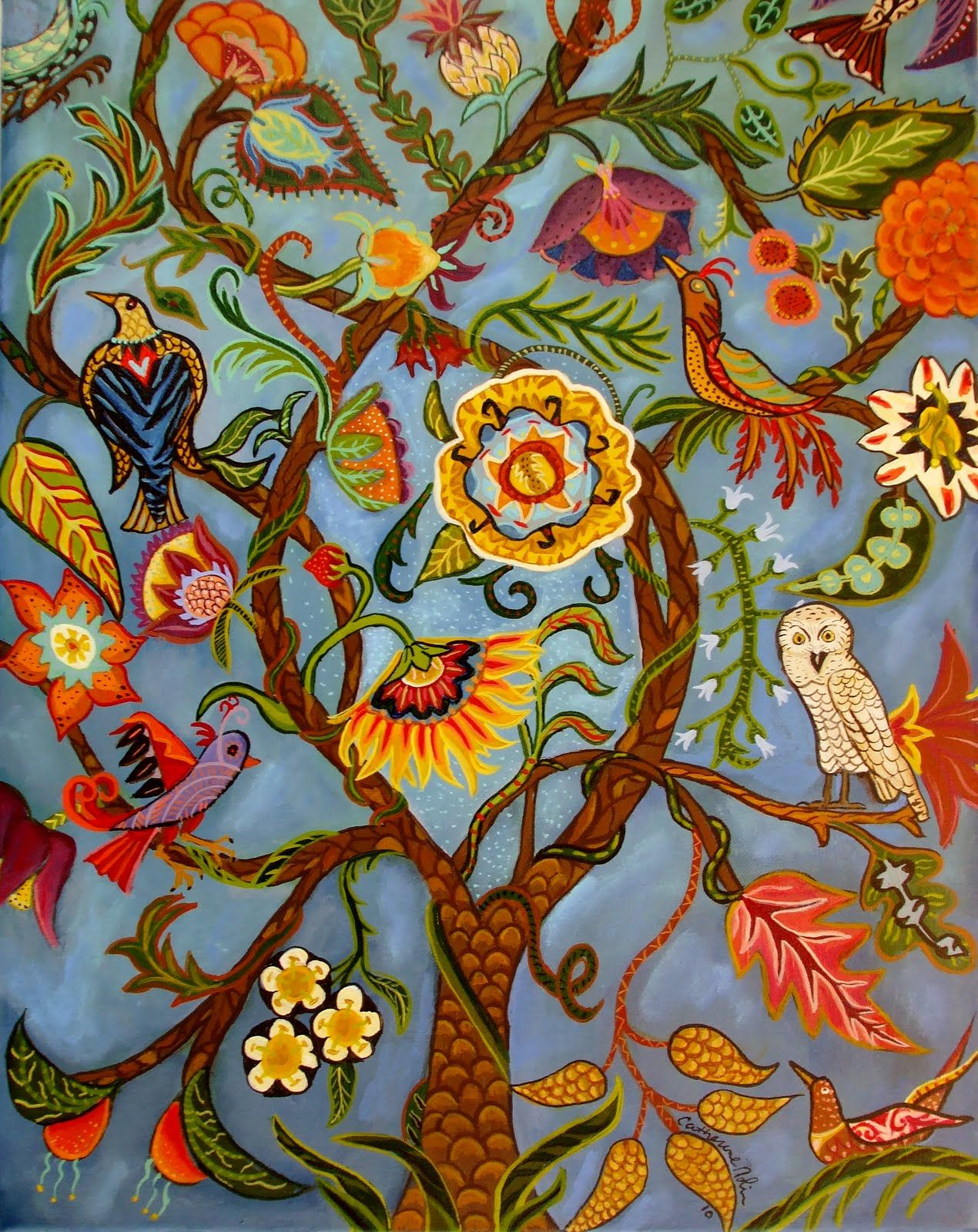 Jüdische Teppiche Tree Of Life Embroidery Embroidery Pinterest