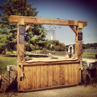 Best 25+ Rustic wedding bar ideas on Pinterest