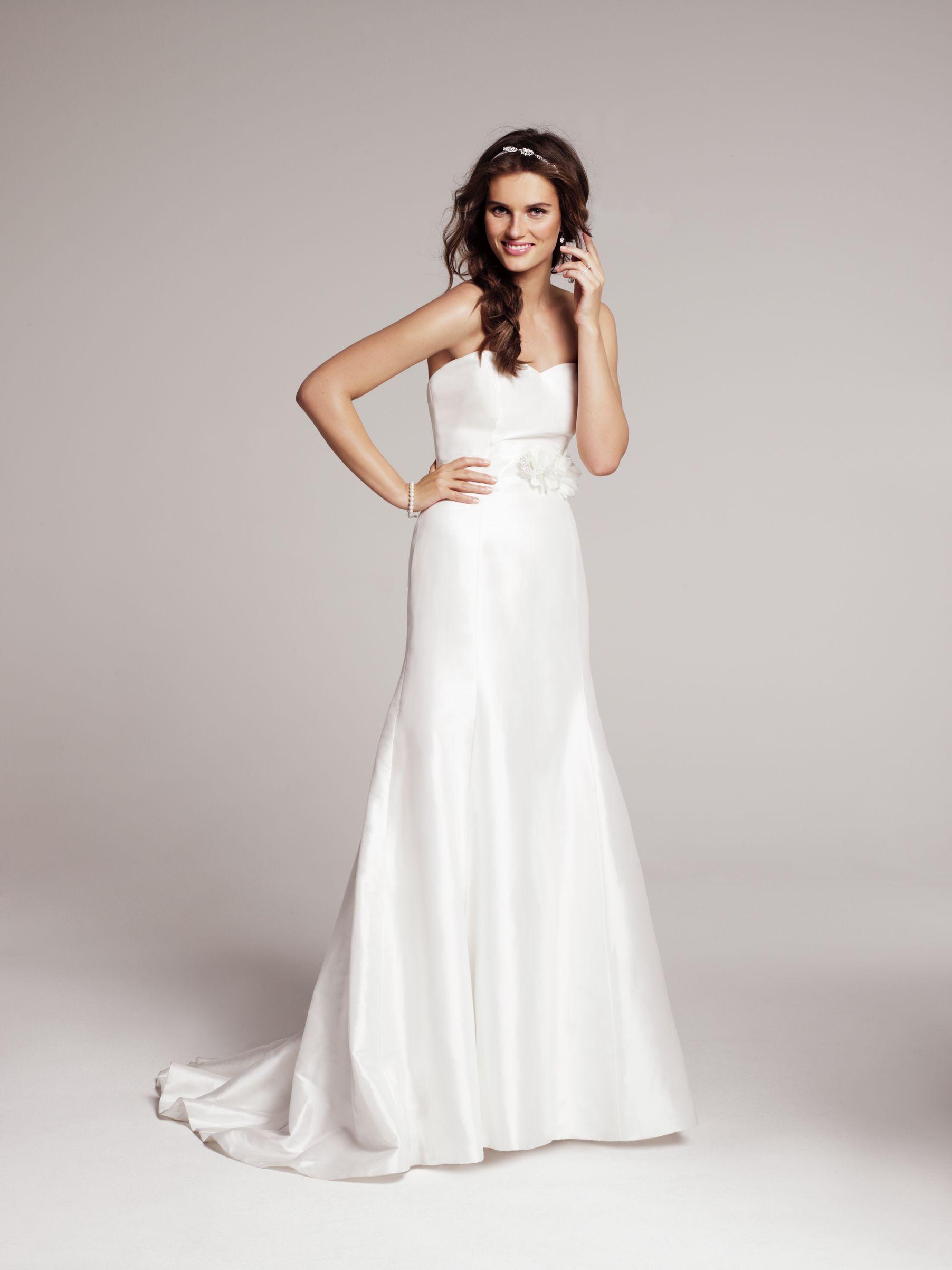 wedding dresses nordstrom Heidi Elnora Coco Marie Strapless Silk Gown Nordstrom
