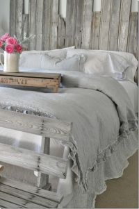 Bedroom inspiration, farmhouse bedroom, DIY headboard ...