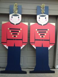 Plywood Christmas Yard Decoration Patterns | Toy Soldier ...