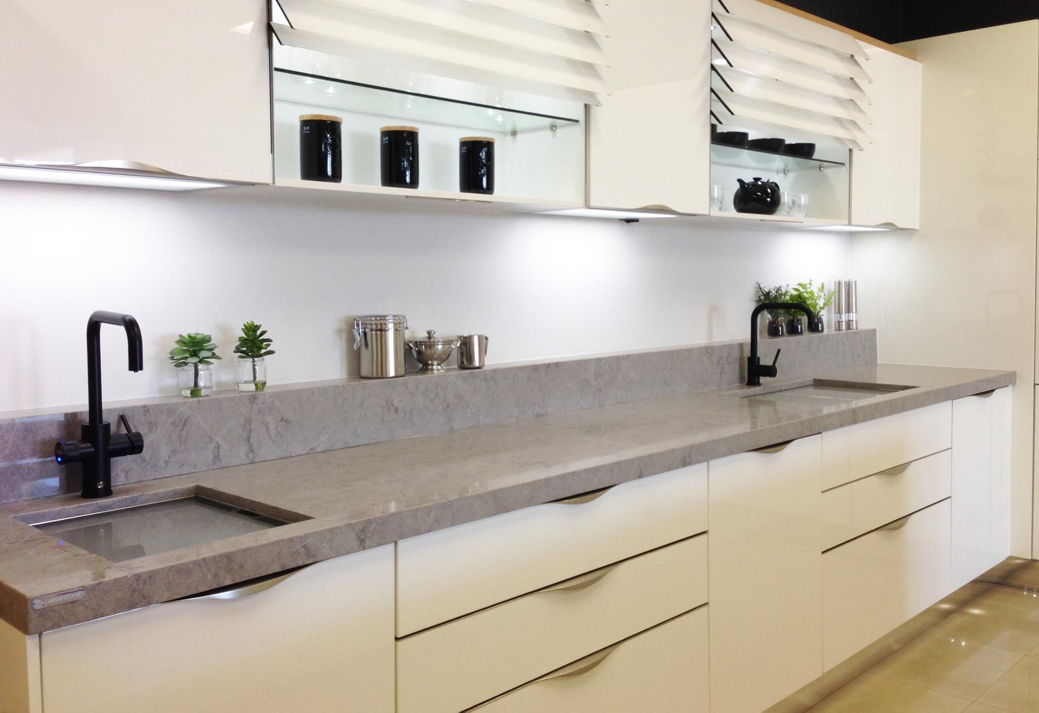 Cesar Countertop Caesarstone Gallery Kitchen And Bathroom Design Ideas