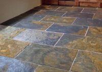 black and copper slate tiles - Google Search Looks just ...