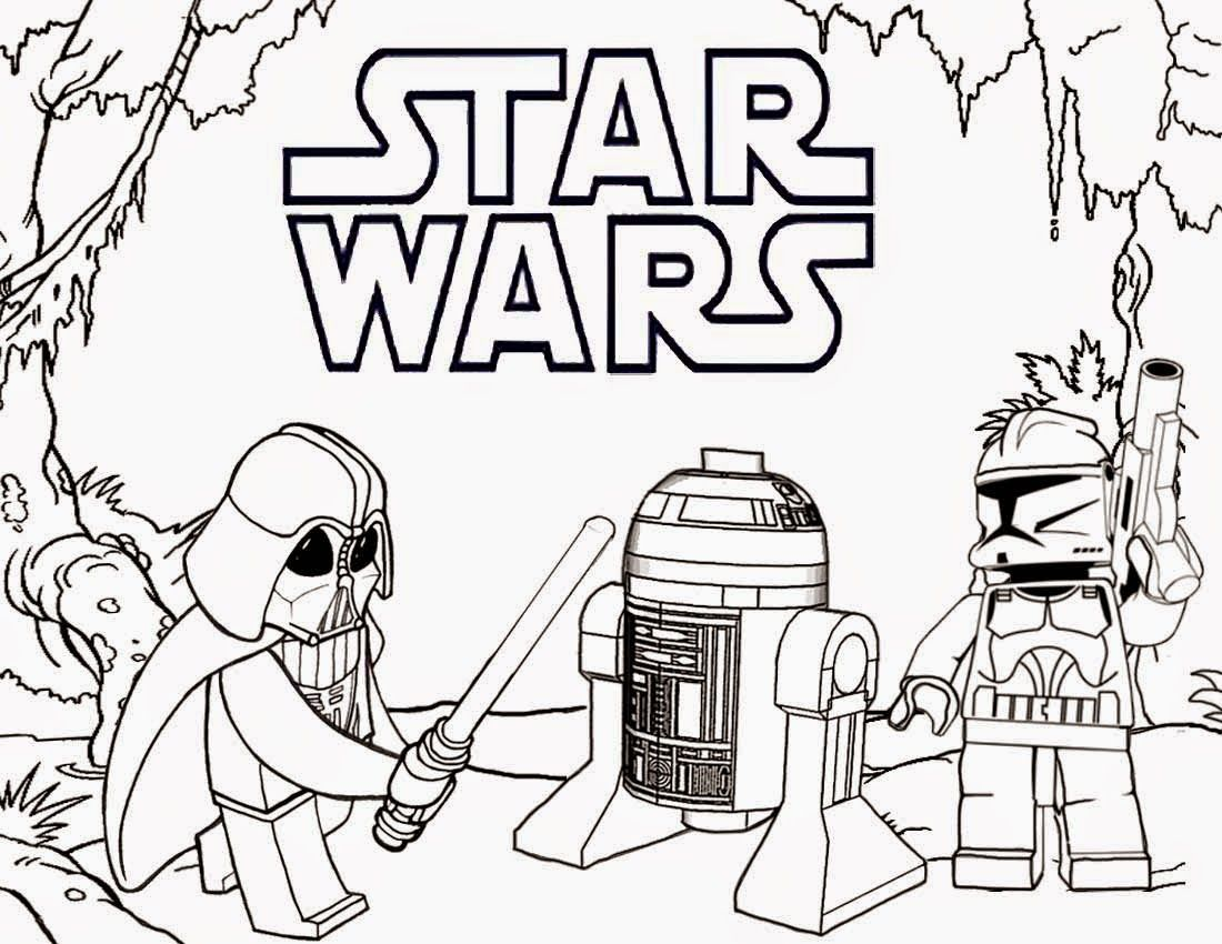Printable lego coloring pages star wars silhouette projects