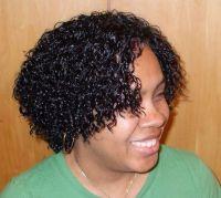 deep wavy short hair style   ... , curly braid styles ...