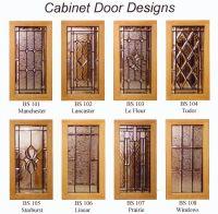 leaded glass cabinet doors - Google Search   Leaded Glass ...