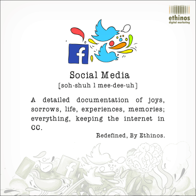 Simple and Fun Definition of Social Media. | Digital Dictionary | Pinterest | Management