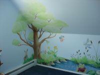 hand painted tree wall mural | DreamWallDesigns - Custom ...