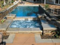 rectangle spa and pool - Google Search   Home Sweet Home ...