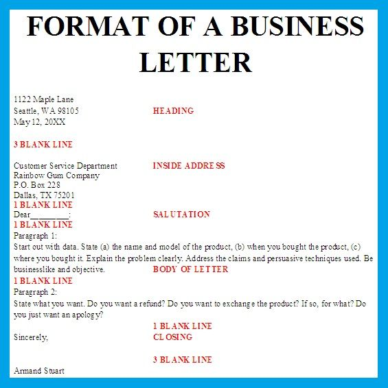 template business letters formal letter block format spacing best - formal business letter formats