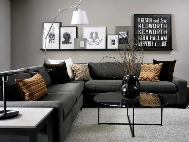 25+ best Grey couch rooms ideas on Pinterest Grey living room - gray and beige living room
