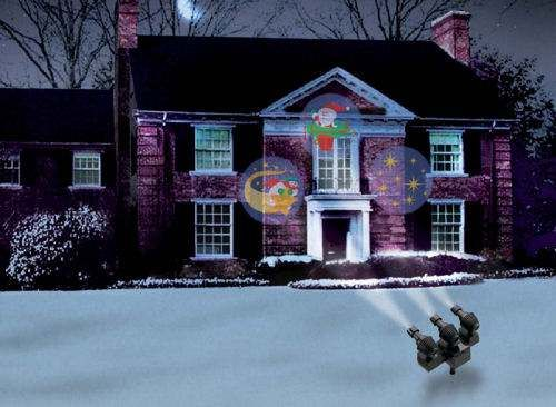 Christmas House Projector - 45degreesdesign - christmas decoration projector