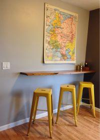Floating Breakfast Bar, wall mounted breakfast bar ...