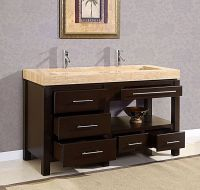 bathroom+vanities+with+trough+sink | ... - Modern Double ...