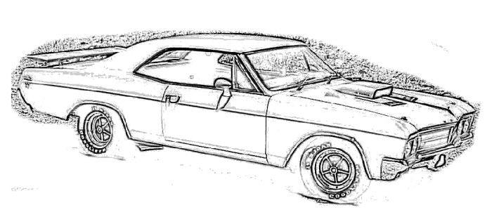 1966 chevy 2 Schaltplang