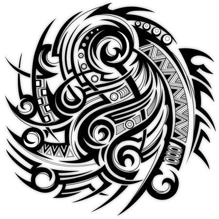 Tribal Half Sleeve Tattoo Template - Best Tattoo 2017 - tattoo template