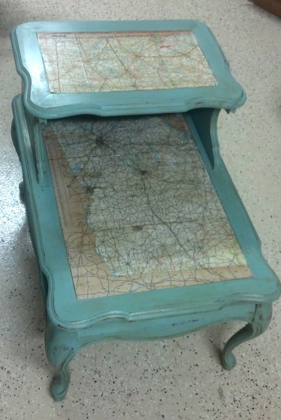 Painting Side Table Ideas Mapped End Table Explains Mod Podge Chalk Paint Powder