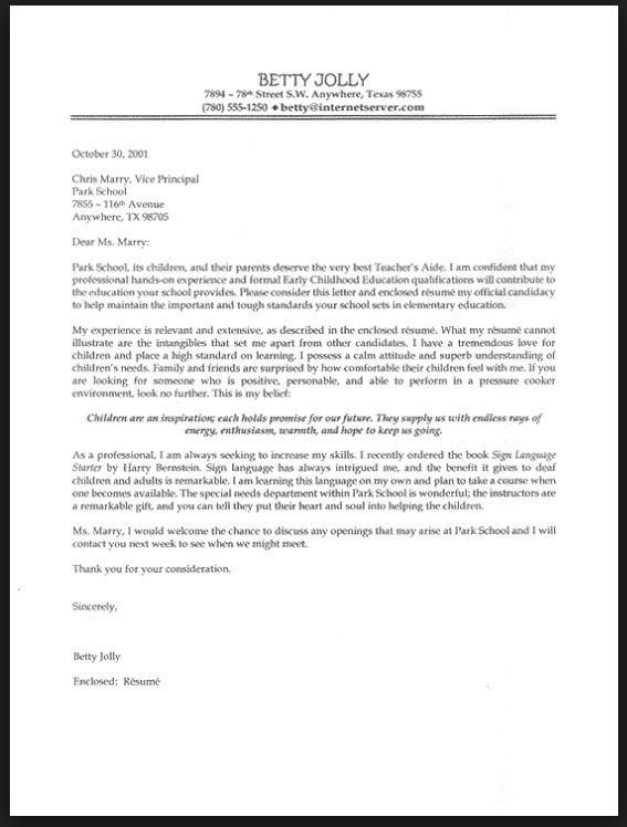 letter template templates cover letters teacher jobs sample - teaching experience resume