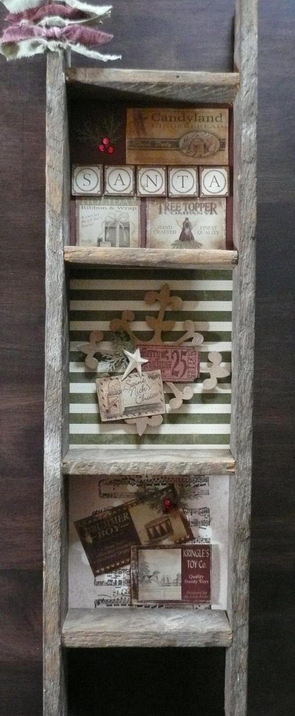 20 Best Primitive Decorating Ideas Rustic Ladder